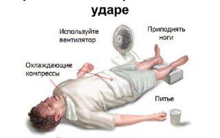 Как оказать человеку помощь получившему тепловой удар