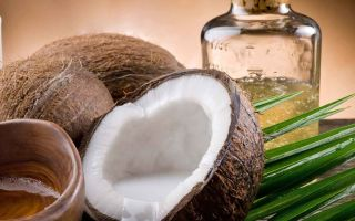 Натуральное масло кокоса при ожогах