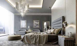 Современные люстры и бра для спальни. Идеи и аранжировки