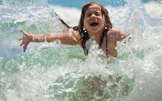 Ограничение купания детей и взрослых при ожогах