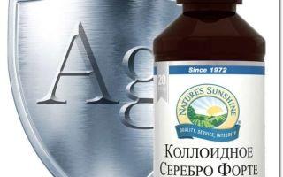 Препараты с серебром, применение при ожогах