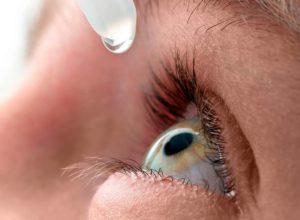 капли для глаз при ожоге глаз